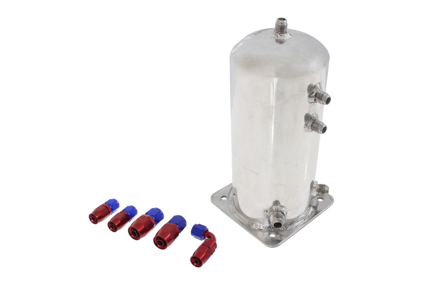 Zbiornik Paliwa TurboWorks 2,5L + Fittings Swirl Pot - GRUBYGARAGE - Sklep Tuningowy